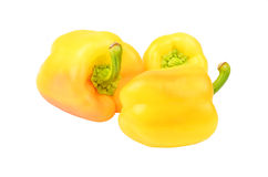 Yellow bell pepper Royalty Free Stock Image