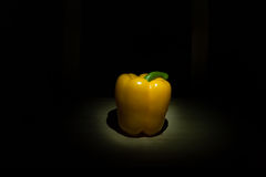 Yellow Bell Pepper Stock Photo