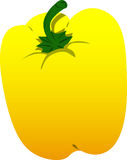 Yellow bell pepper Royalty Free Stock Photo