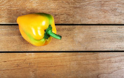 Yellow bell pepper Royalty Free Stock Images