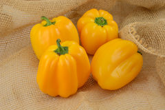 Yellow Bell Peppers Stock Photos