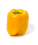 Yellow bellpepper isolated Royalty Free Stock Images