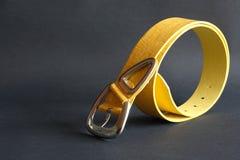 Free Yellow Belt On Dark Stock Photos - 19535243