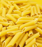Yellow big spaghetti Royalty Free Stock Photos