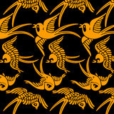 Yellow birds Royalty Free Stock Images