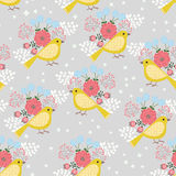 Yellow birds Stock Images