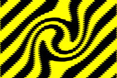Yellow black background Royalty Free Stock Photography