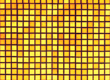 Yellow black background from mosaic Stock Photography