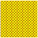 Yellow and black figure background icon Stock Photos