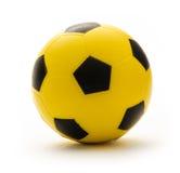 Yellow and black football Stock Photos