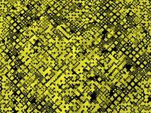 Yellow Black Grunge Textured Background Stock Photography