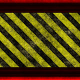 Yellow black hazrd Stock Image
