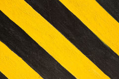 Yellow and black line Royalty Free Stock Image
