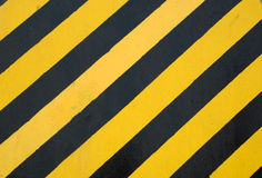 Yellow and black lines Stock Images
