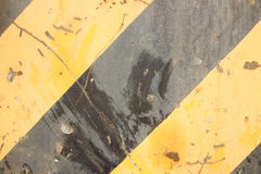 Yellow and black lines. Painted Stock Photography