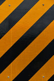 Yellow and black marking. Royalty Free Stock Images