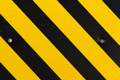 Yellow and black pattern Royalty Free Stock Images