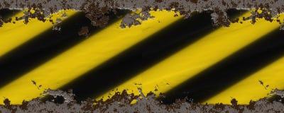 Yellow black stripes Stock Photography