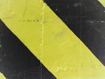 Yellow and black stripes Stock Image