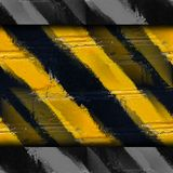 Yellow black stripes stone wall wallpaper Royalty Free Stock Photo