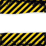Yellow black. Yellow and black stripes with transparent space insert Royalty Free Stock Photo