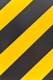 Yellow and black traffic sign Royalty Free Stock Photo