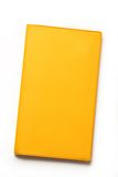 Yellow blank book Royalty Free Stock Photos