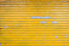 Yellow blind. Surface of the old yellow blind Royalty Free Stock Image