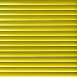 Yellow blinder. Modern yellow light blinder close up background Stock Images
