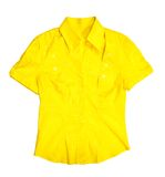 Yellow blouse Stock Photos