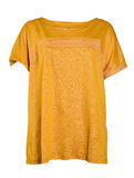 Yellow blouse Royalty Free Stock Image