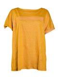 Yellow blouse Royalty Free Stock Image