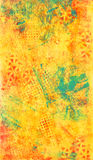 Yellow and Blue Abstract Texture Stock Images