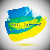 Yellow-blue backgrounds Royalty Free Stock Image