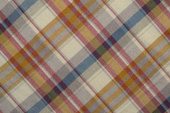 Red and Beige Plaid Stock Photos