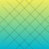 Yellow and blue gradient and lines graphic Stock Image