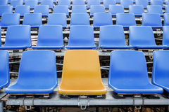 Stadium Chair Royalty Free Stock Images