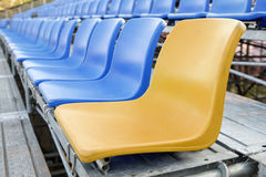 Stadium Chair Stock Photo