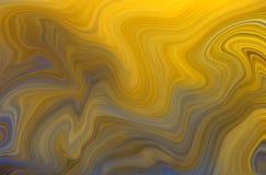 Yellow & blue swirls Royalty Free Stock Photos