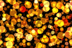 Yellow blur light for holiday Royalty Free Stock Image