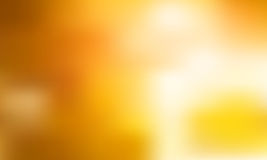 Yellow blurred abstract background Stock Photos
