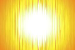 Yellow blurred stripes with a white spotlight Stock Photo