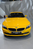 Yellow BMW Z4 sDrive23i Stock Image
