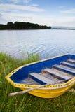Yellow boat Stock Photo