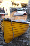 Yellow Boat Stock Image