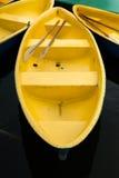 Yellow boat Stock Image