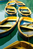 Yellow Boats Royalty Free Stock Image