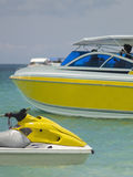 Yellow boats Royalty Free Stock Photos