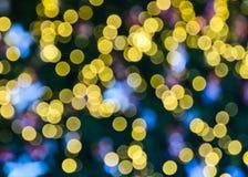 Yellow bokeh Stock Photo