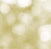 Yellow bokeh abstract background Royalty Free Stock Photography